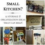 15 Small Kitchen Storage & Organization Ideas