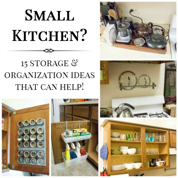15 small kitchen storage organization ideas for Small kitchen storage