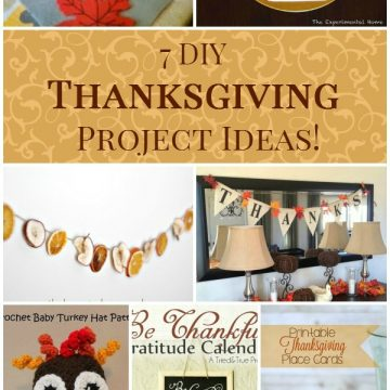 7 DIY Thanksgiving Project Ideas!