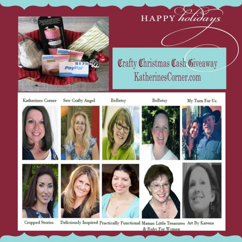 Crafty Christmas Cash Giveaway friends-katherines corner