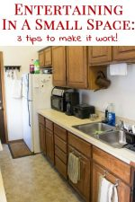 3 Tips For Entertaining In A Small Space