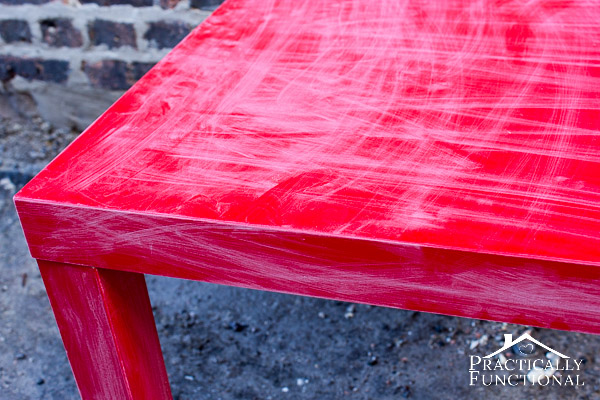How to paint laminate furniture tutorial: Don't pass up that great piece of furniture just because it's the wrong color!