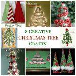 8 Creative Christmas Tree Crafts!