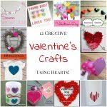 12 Creative Valentine's Crafts Using Hearts