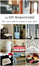 23 DIY Makeovers: Crafts, Furniture, and Rooms!