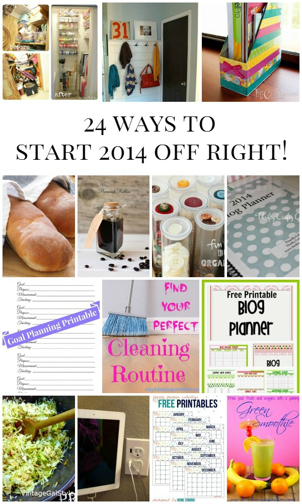 24 ways to start 2014 off right!