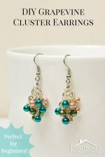 How To Make Grapevine Cluster Earrings