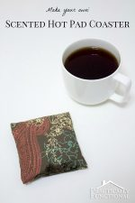 DIY Scented Hot Pad Coaster