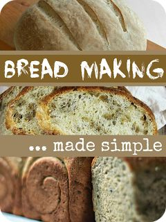 Easy Bread Making Recipes from Mums Make Lists