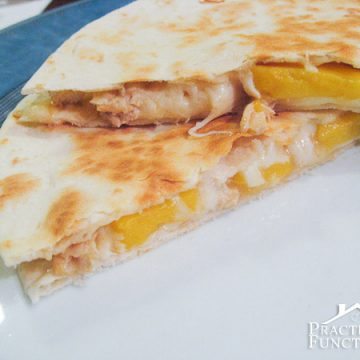 Mango Chicken Quesadillas Recipe