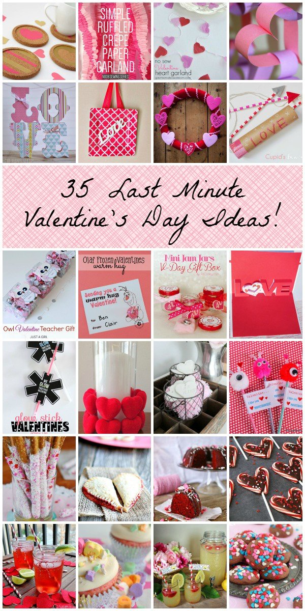 35 Last Minute Valentine's Day Ideas!