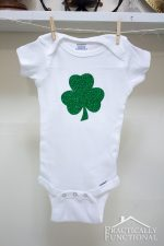 Make A St. Patrick's Day Baby Onesie In Just 5 Minutes!