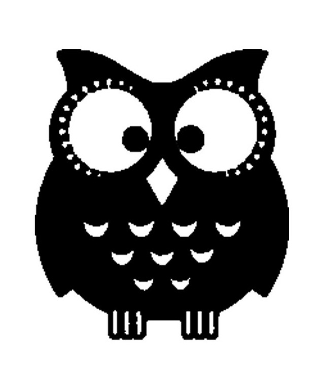 Printable owl stencils - photo#19