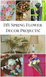 6 DIY Spring Flower Decor Projects!