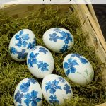 Decorate Easter Eggs With Paper Napkins