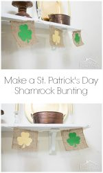 How To Make A St. Patrick's Day Shamrock Bunting