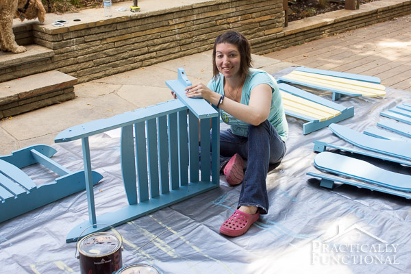 Painted Adirondack Chairs-6