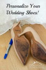 Something Blue Personalized Wedding Shoes