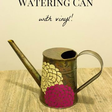 Decorate A Watering Can: Boring To Fabulous In Just 10 Minutes!