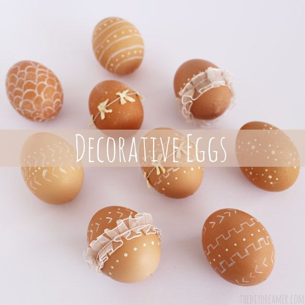Decorative Easter Eggs from The DIY Dreamer