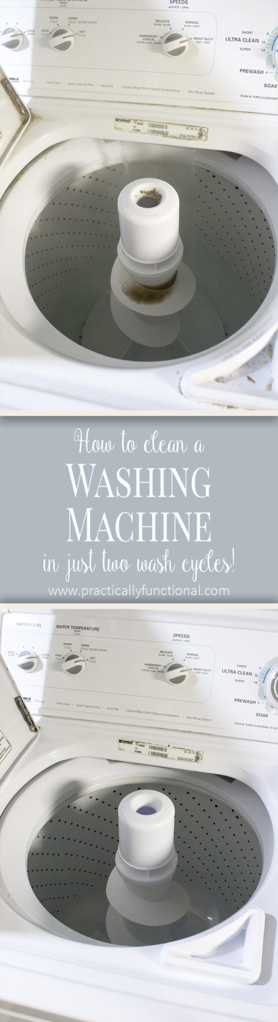 How To Clean A Top Loading Washing Machine With Vinegar