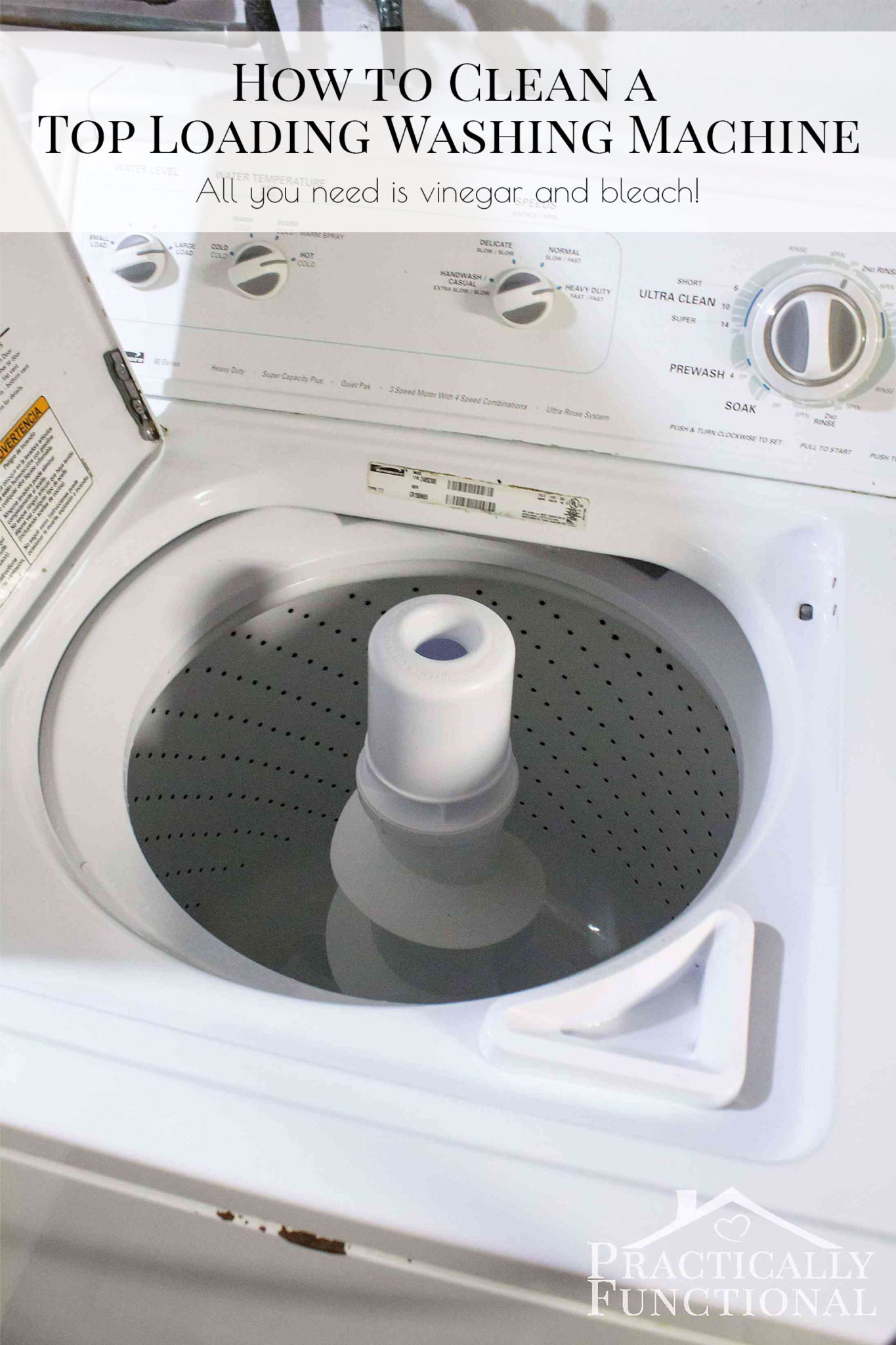 Clean A Washing Machine Pictures