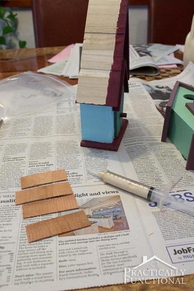 Simple DIY Painted Birdhouse