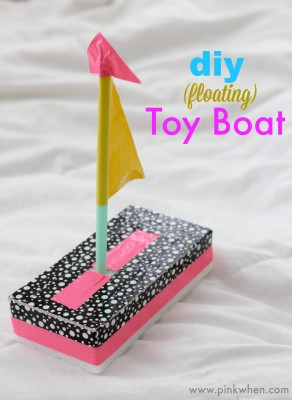 DIY Toy Boat from Pink When