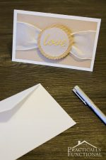 "DIY ""Love"" Wedding Card {+ Free Cut File}"