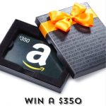 Enter for your chance to win a $350 Amazon gift card!