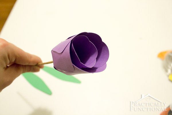 How To Make Paper Flowers - 3D Paper Tulips