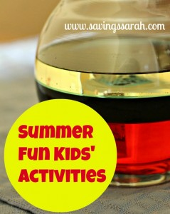 Summer Fun  Kids' Activites by Savings Sarah