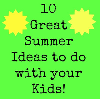 Summer Ideas for Kids by Creative Southern Home