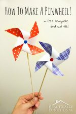 How To Make A Pinwheel {+ Free Template}