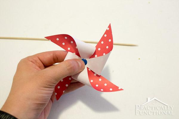 How To Make A Pinwheel {+ Free Template}
