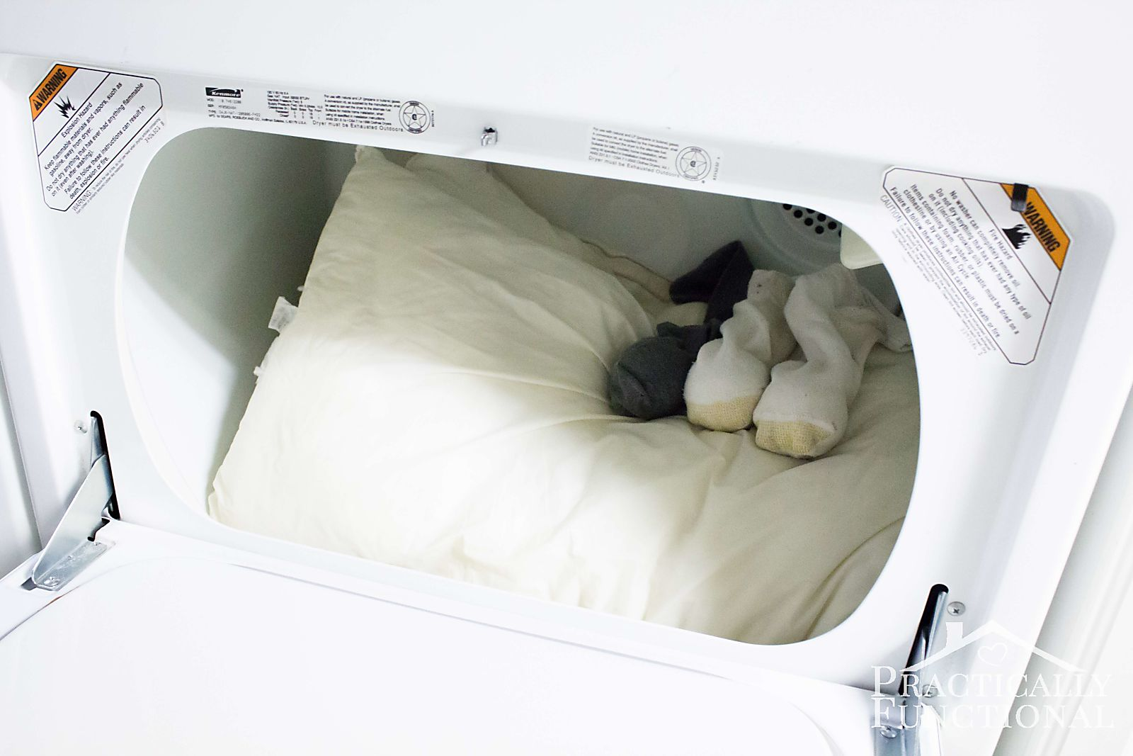 How To Wash Pillows In Washer-9
