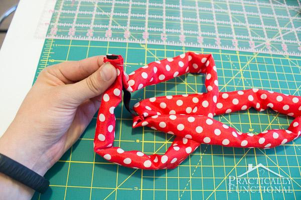 How to make a turban headband-7