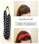 How To Make A Turban Headband