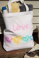 Make A Watercolor Tote Bag With Paint Pens