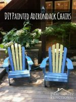 Luxury DIY Painted Adirondack Chairs