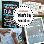 7 Awesome Free Father's Day Printables