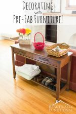 Decorating With Prefab Furniture