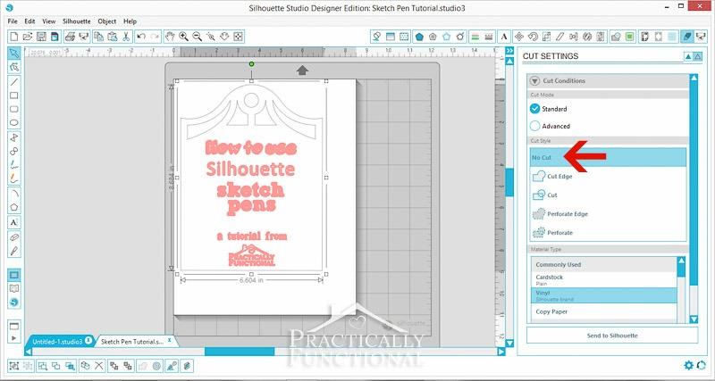 How To Use Silhouette Sketch Pens-2