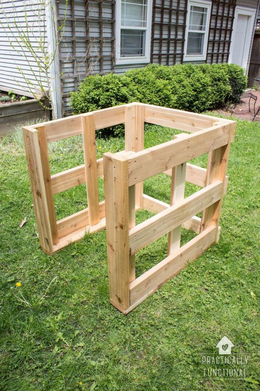 How To Build A Diy Compost Bin Free Plans Amp Cut List