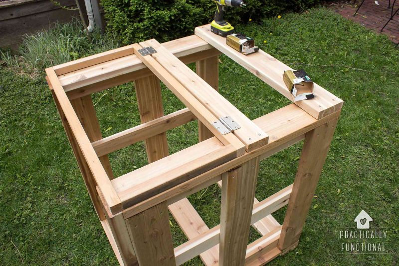 how to build a worm copost bin