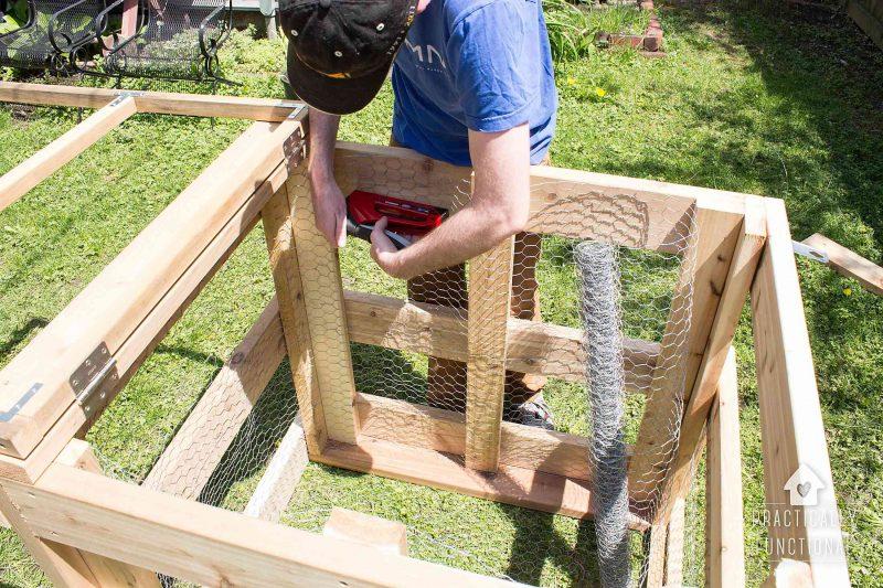 How To Build A DIY Compost Bin + Free Plans & Cut List