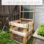 DIY Compost Bin + Free Plans