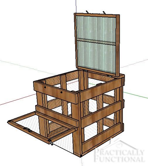 How To Build A DIY Compost Bin + Free Plans & Cut List!
