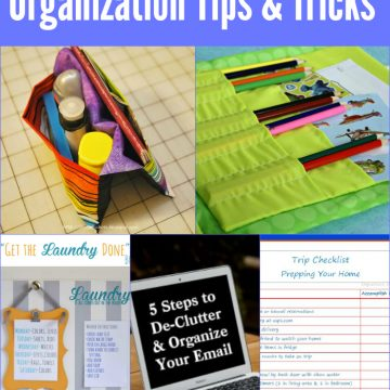 8 Great Organization Tips and Tricks