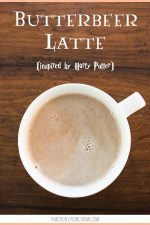 Harry Potter Inspired Butterbeer Latte Recipe